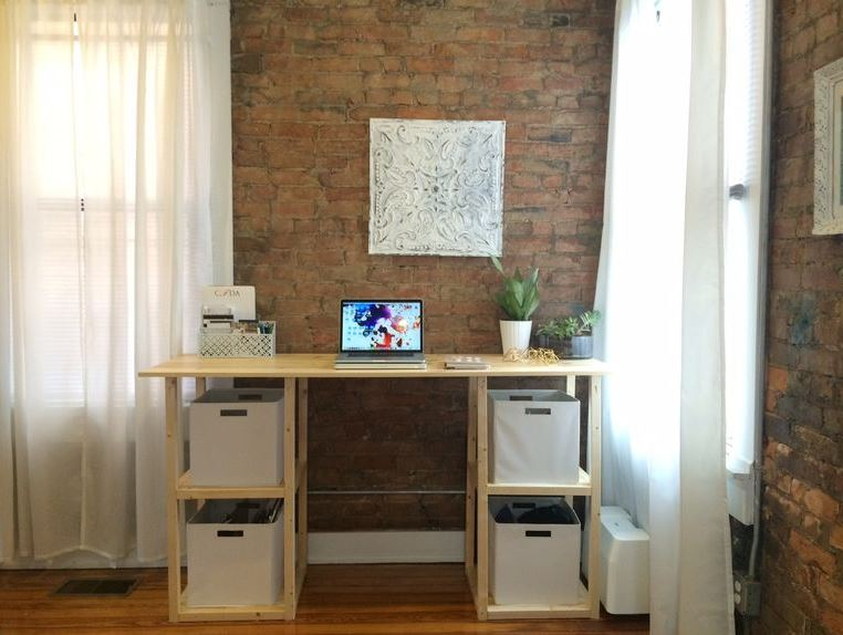 diy computer desk plans