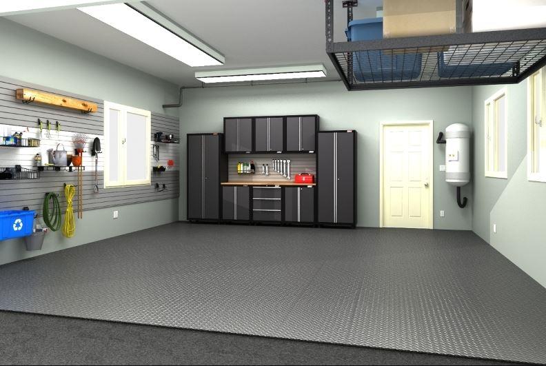 concrete garage floor paint ideas
