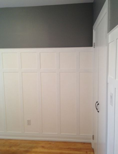 boardbatten wainscoting