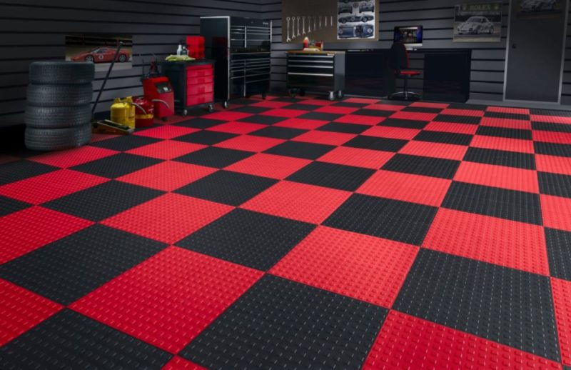 garage floor decorating ideas
