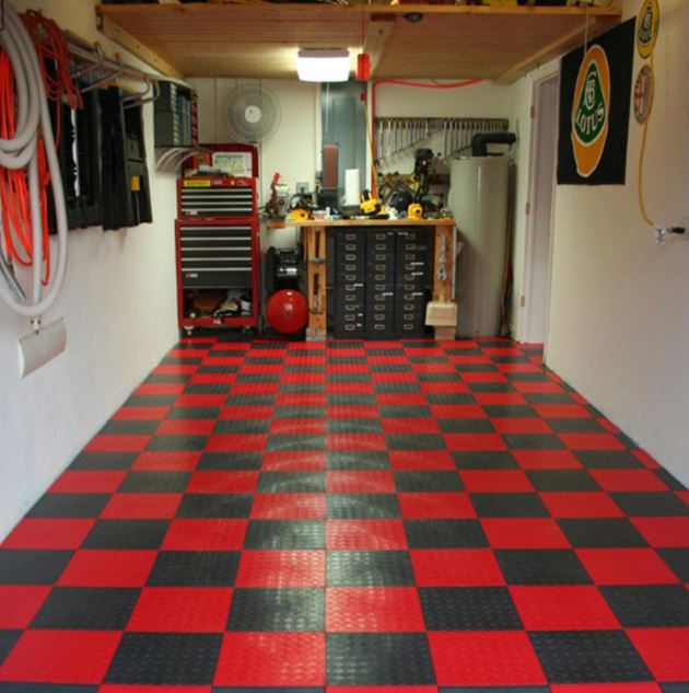 ideas for garage floors