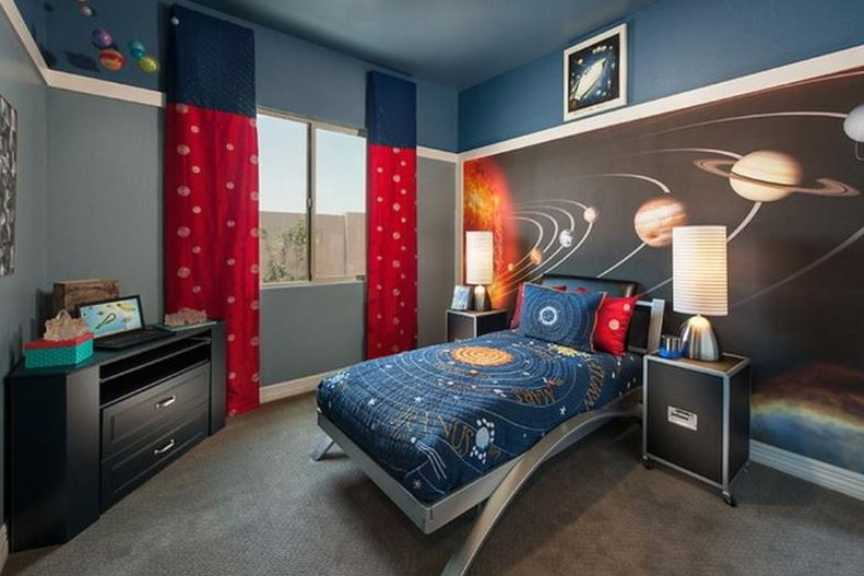 space themed game room