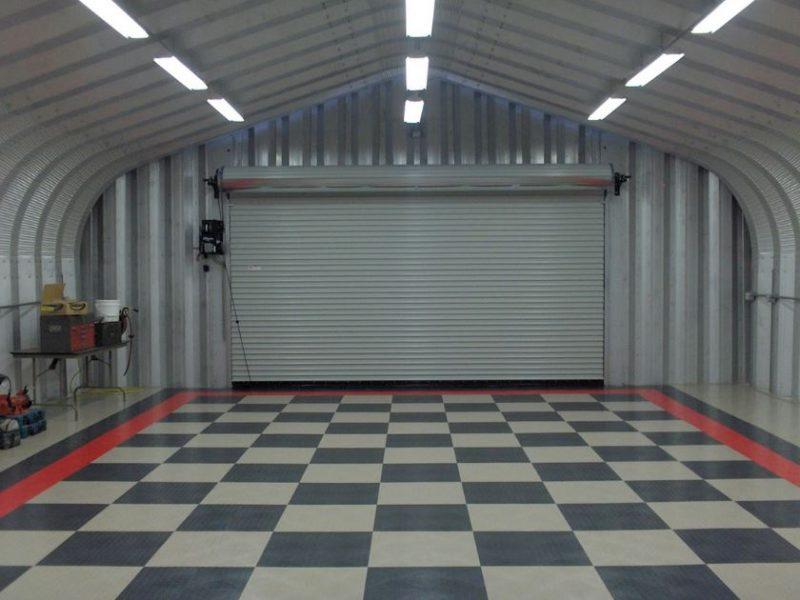 lighting ideas for a garage