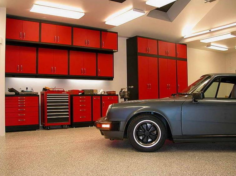 garage workshop lighting ideas