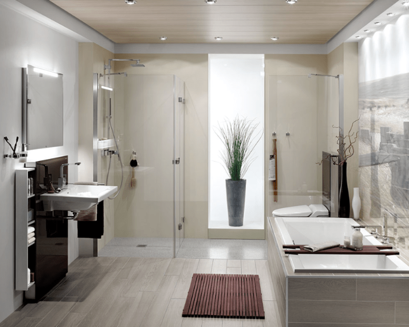 Indoor and Outdoor for shower