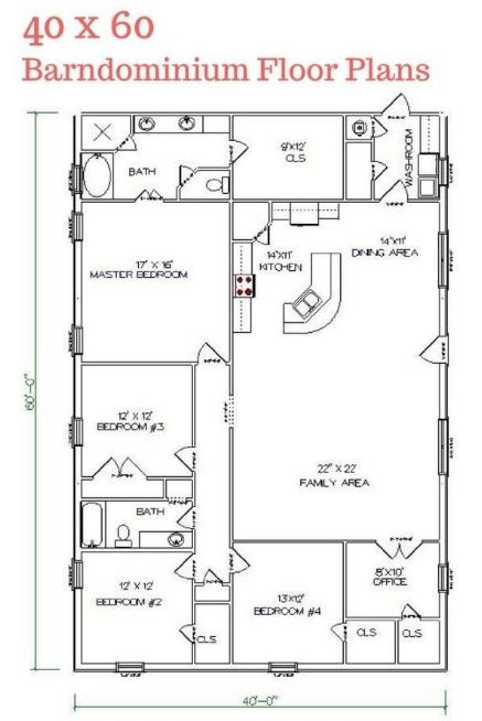 40x60 barndominium