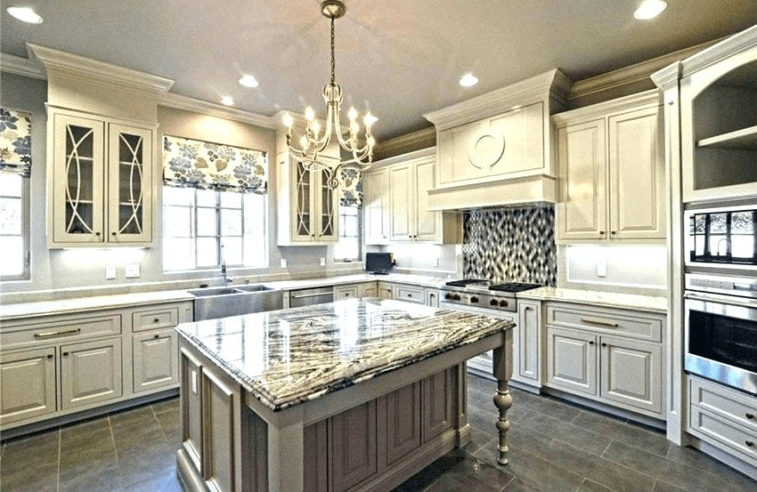 Genial Traditional White Kitchen Cabinets