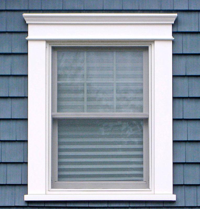 Neutral Shade window trim
