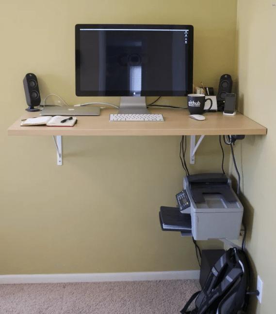 floating desk ideas