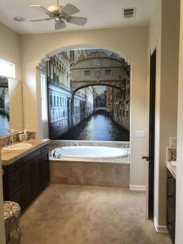 Mural for a Bathroom