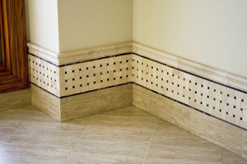 Tile Baseboard Idea
