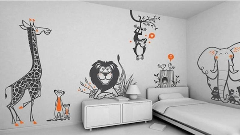 Wall Mural for Kid Ideas