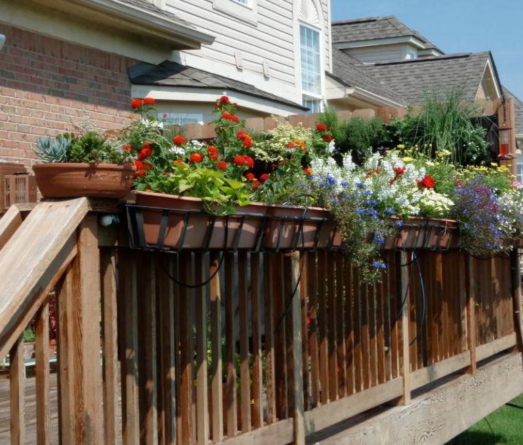 Deck Railing Planter