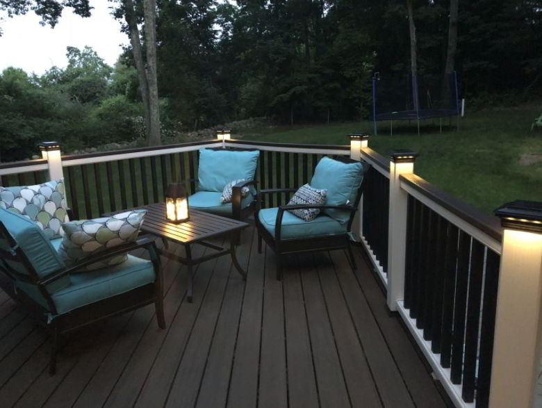 Powered Deck Fence