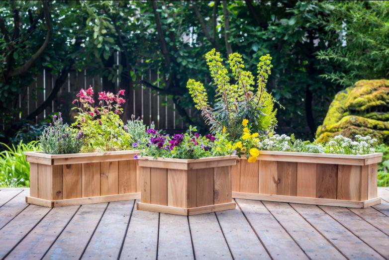 Amazing deck planter ideas