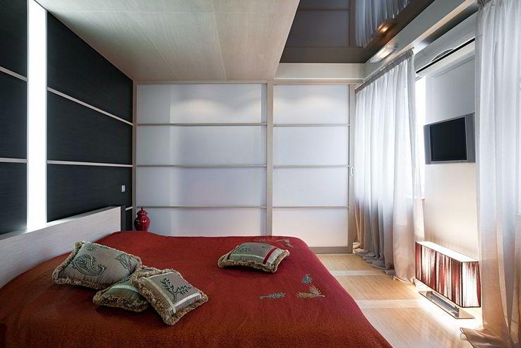 Bedroom for privacy & brightness
