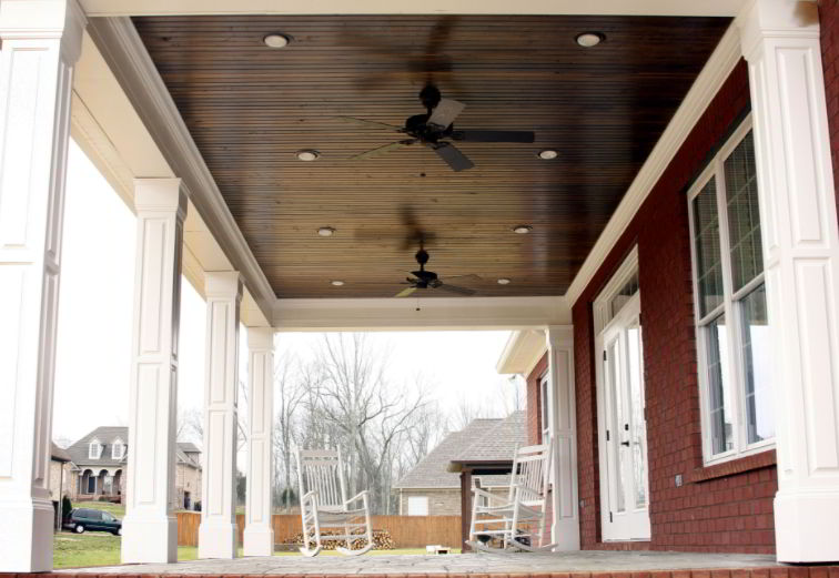Outdoor Porch Ceiling Desing