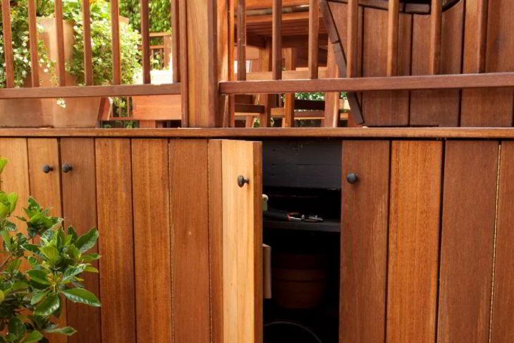 Unseen Storage Door Design