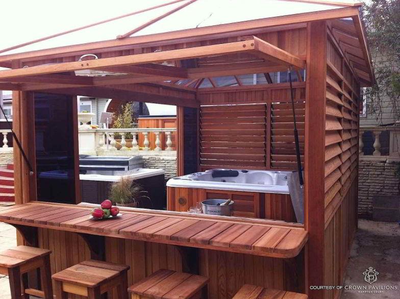 Best Hot Tub Deck Ideas