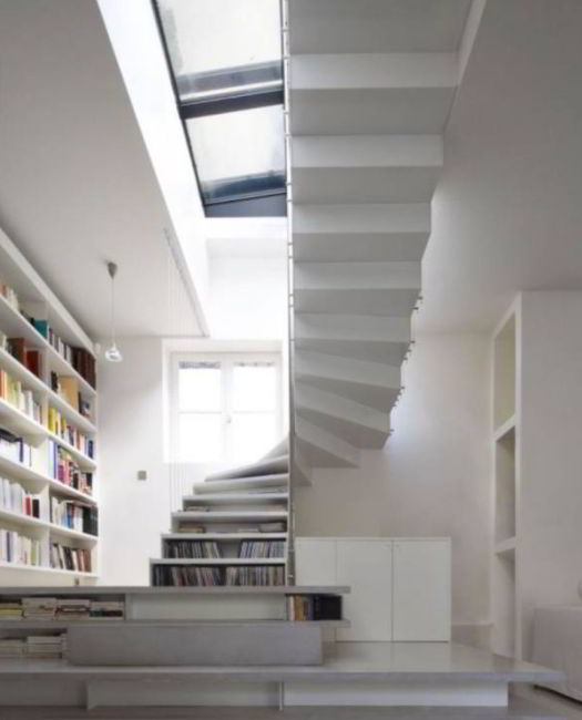 Best Floating Loft Stairs