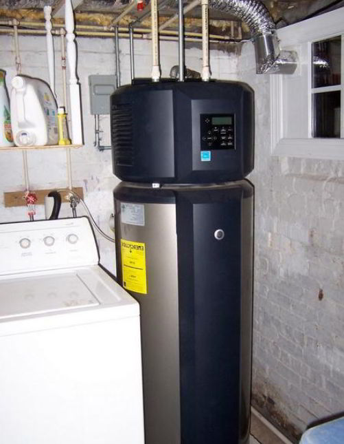 electric heat pump water heater
