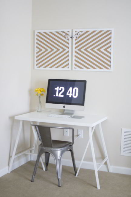 Best IKEA desk hack for small space
