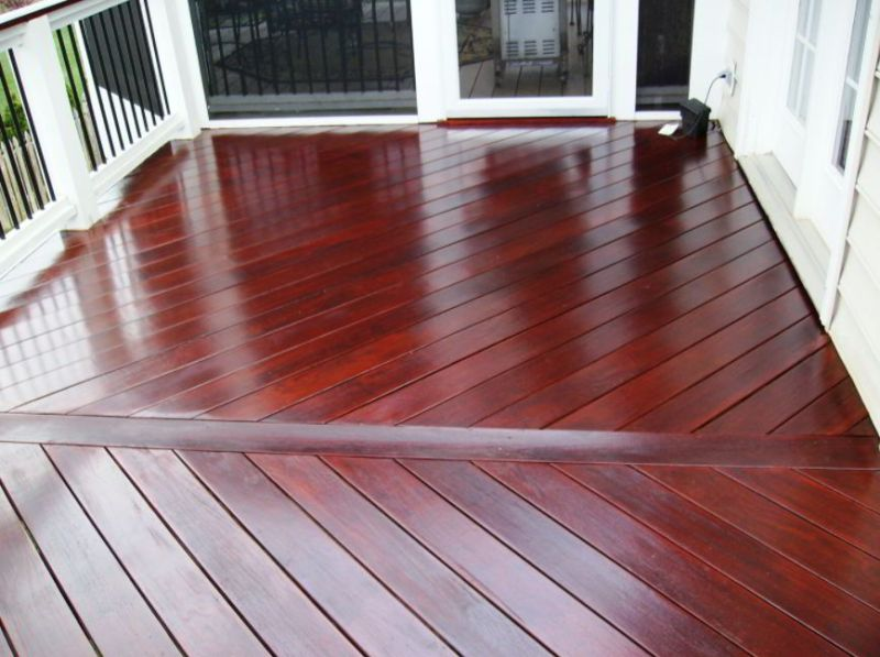 Redwood Deck Stain Design