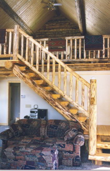 Rustic Loft Staircase Concept