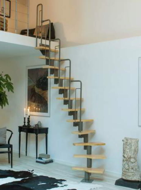 Space Saver Stairs Design
