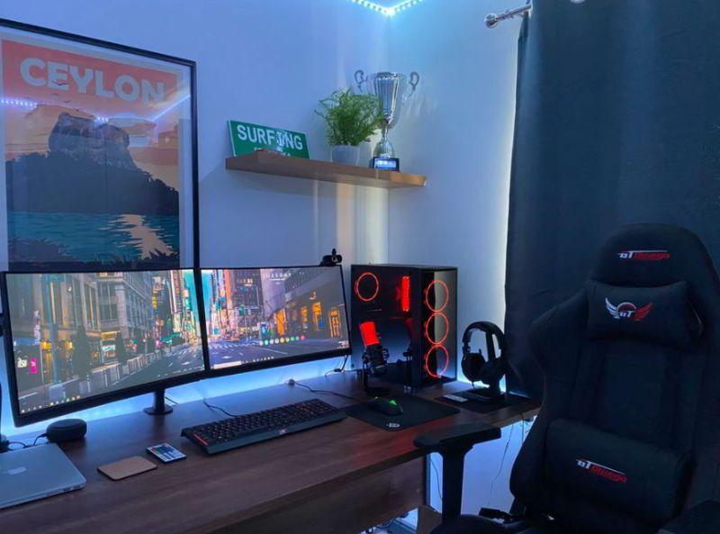Best Wide Dual Monitor Computer Desk