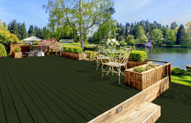 Green color for deck