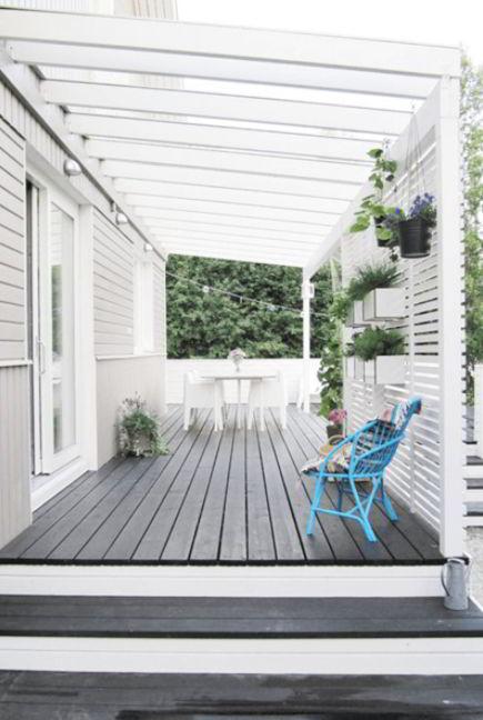 Grey Woods Design for Deck