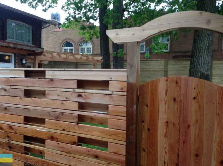 Best Pallet Deck Gate Concept