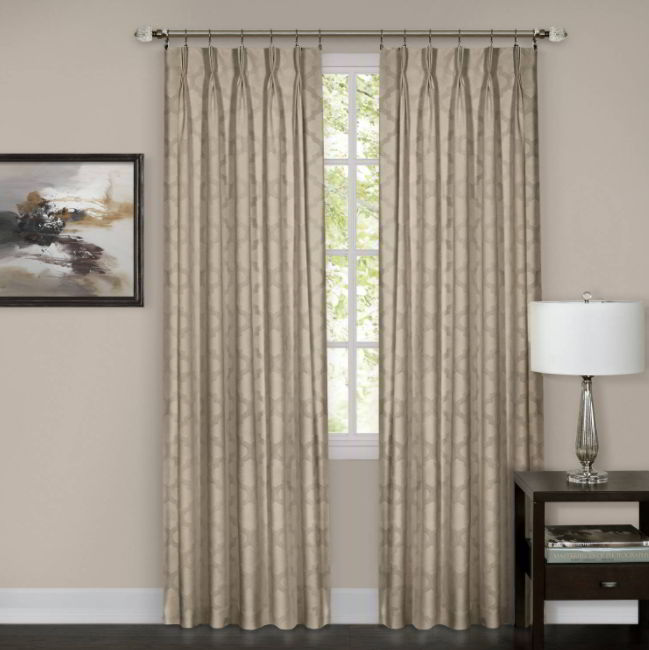 Appearance from a Pinch Pleated Curtains