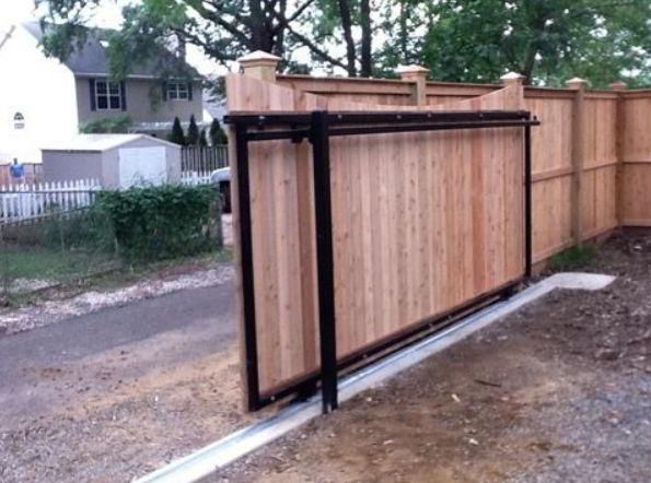 Best Wood Sliding Gates