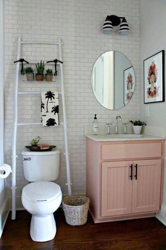 Bathroom with Living Plants