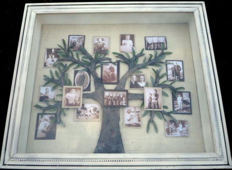Family Tree Shadow Box Ideas