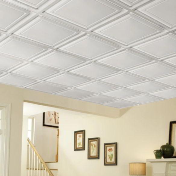 PVC Tiles Garage Ceiling Ideas