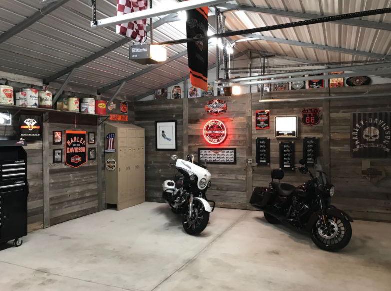 Motorcycle Garage Design