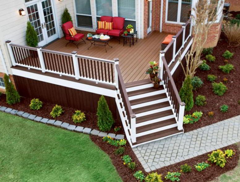Beautiful Front Deck Design
