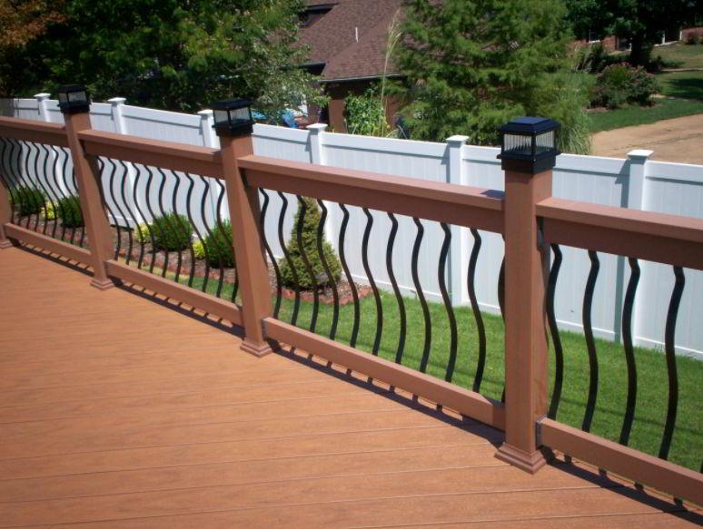 Elegant Handrail Color Ideas