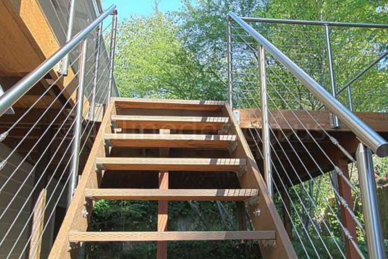 Silver Stainless Handrail