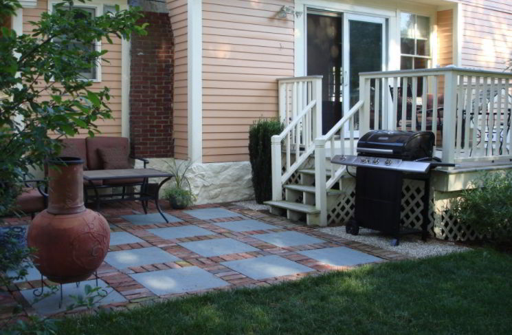 Tiny Grill Patio Images