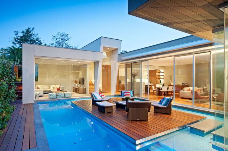 floating pool deck