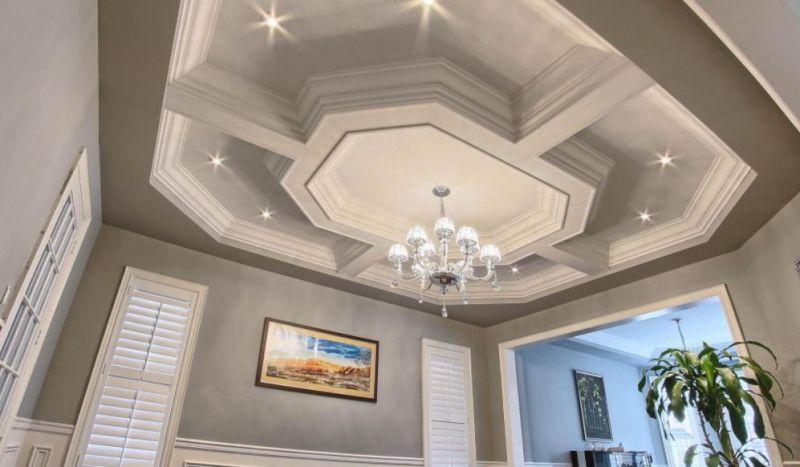Centered Ceilings with Hanging Lights