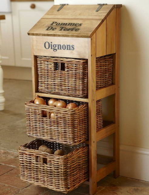 Clever Onion Storage Ideas