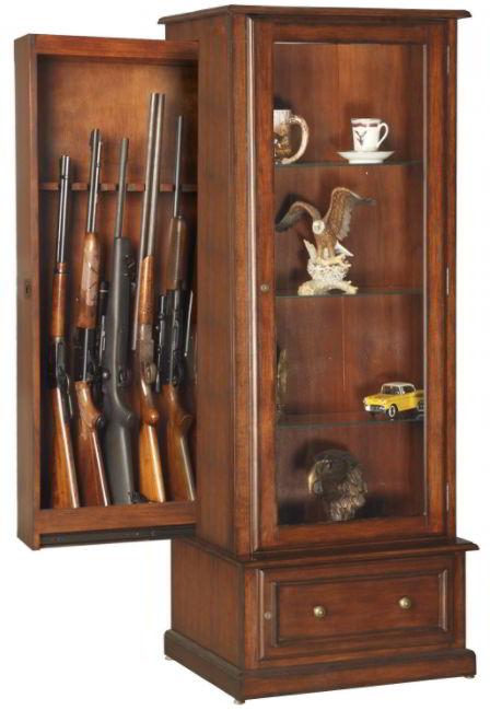Gun Concealment Display Cabinet