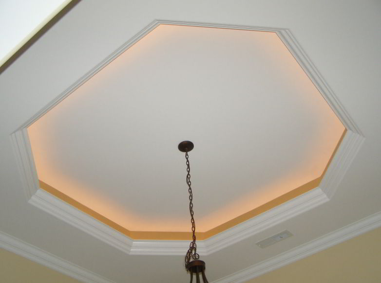 tray ceiling ideas for small space