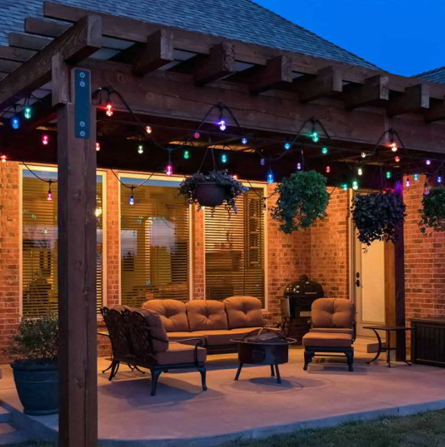 how your patio looks