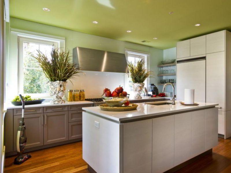 Plain Green Ceiling Ideas